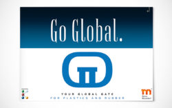 Cover of the Global Gate brochure